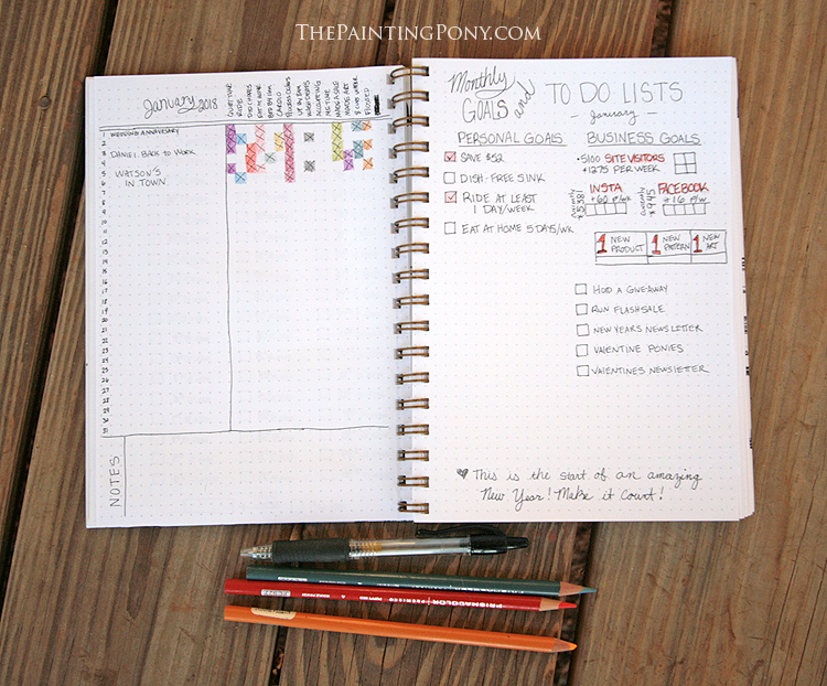 10 ways to bullet journal your way to new year u0026 39 s resolutions success